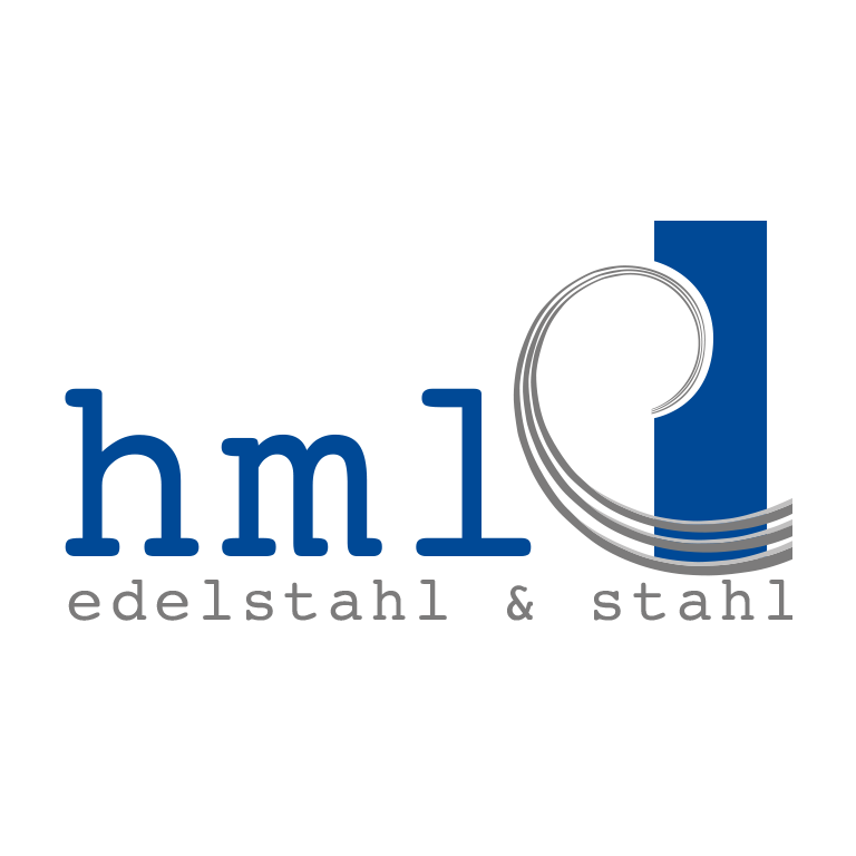 freiSign Werbeagentur Nordhorn: hml edelstahl & stahl Logo