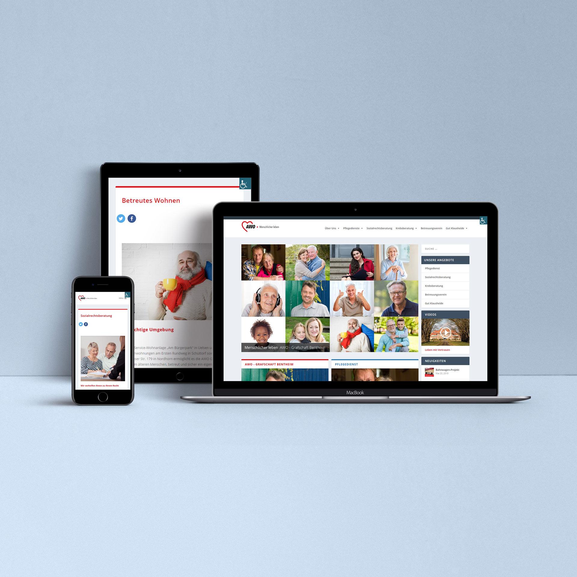 freiSign Werbeagentur Nordhorn: Webgestaltung