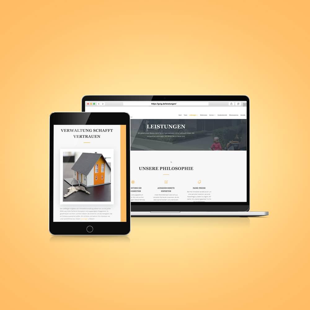 freiSign Werbeagentur Nordhorn: Webseite Praxis