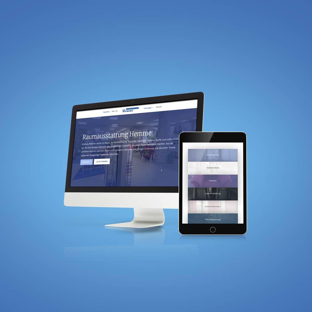 freiSign Werbeagentur Nordhorn: Webseite Industrie